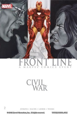 Civil War: Front Line, Vol. 2 by Eduardo Barreto, Frazer Irving, Steve Lieber, Ramón F. Bachs, Paul Jenkins, Lee Weeks, John Lucas