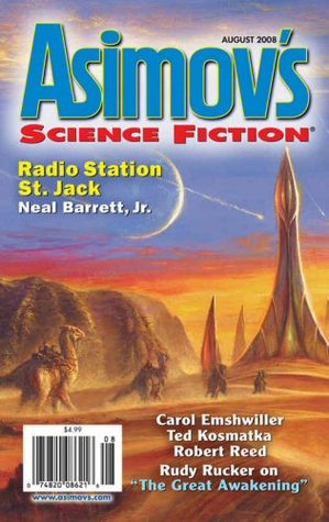 Asimov's Science Fiction, August 2008 by Sheila Williams