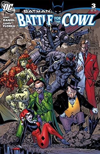 Batman: Battle For the Cowl #3 by Sandu Florea, Tony Salvador Daniel
