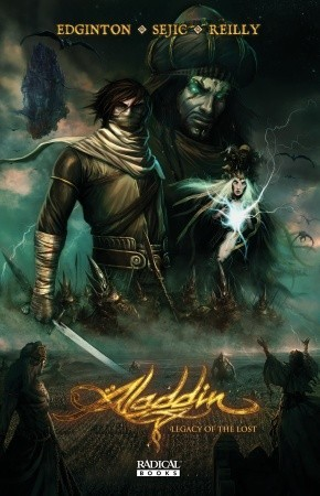 Aladdin: Legacy of the Lost by Stjepan Šejić, Patrick Reilly, Arthur Suydam, Ian Edginton