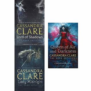 Cassandra Clare The Dark Artifices Series 3 Books Collection Set by Cassandra Clare
