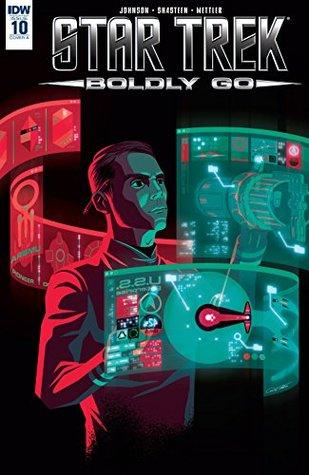 Star Trek: Boldly Go #10 by Tony Shasteen, Mike Johnson