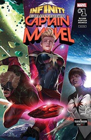Infinity Countdown: Captain Marvel #1 by Diego Olortegui, Jim McCann, In-Hyuk Lee