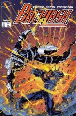 Backlash #18 (Backlash Volume 1, #18) by Sean Ruffner, Brett Booth