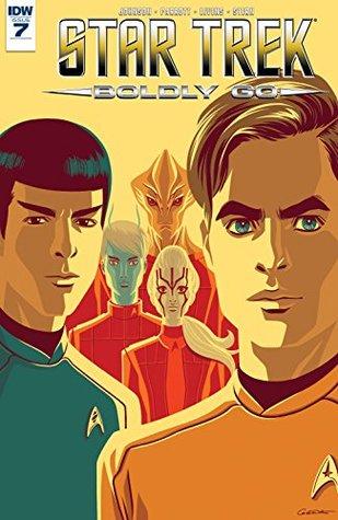 Star Trek: Boldly Go #7 by Megan Levens, Mike Johnson