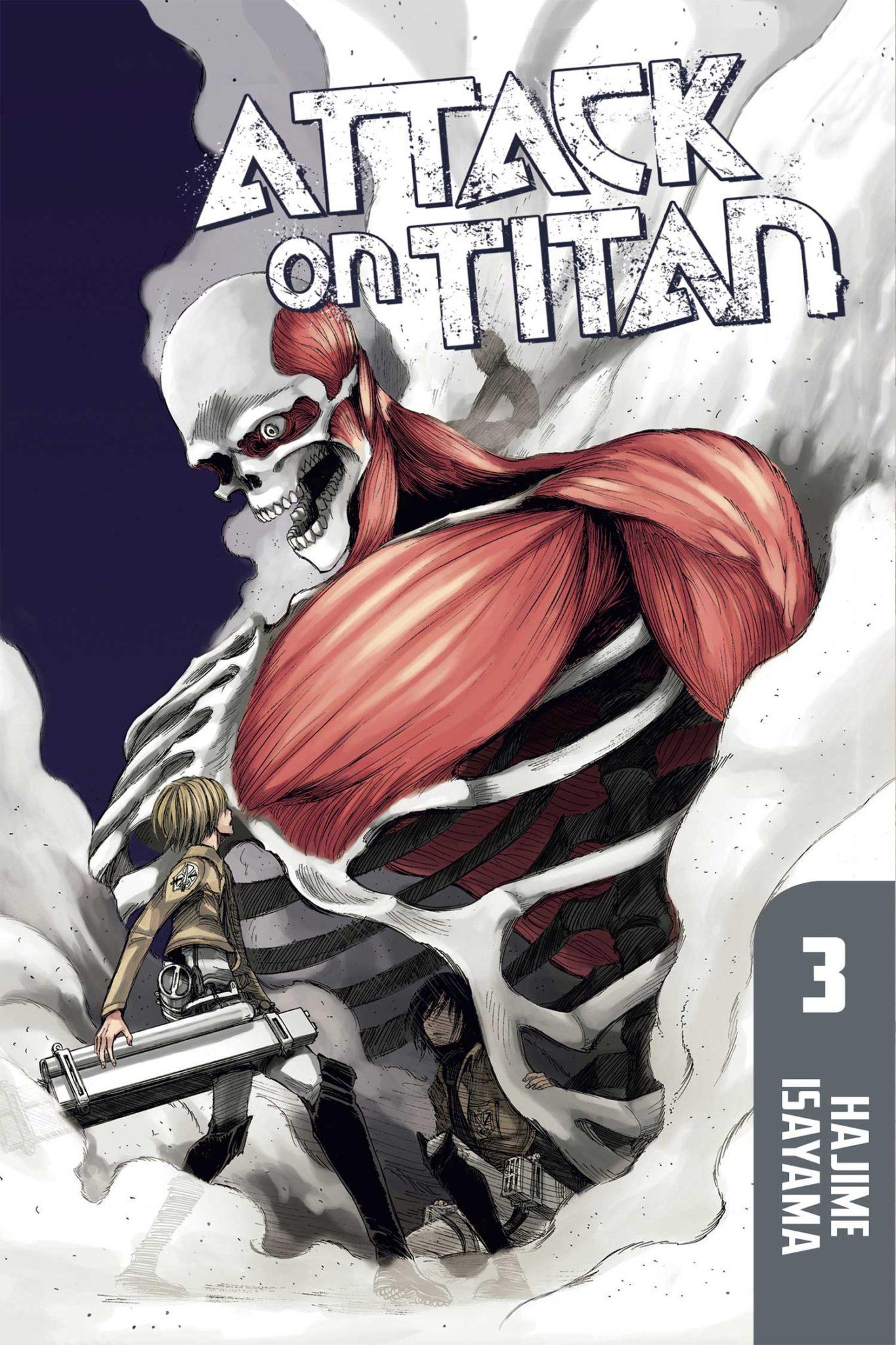 Attack on Titan, Volume 3 by Hajime Isayama