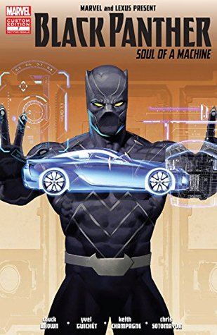 Black Panther: Soul Of A Machine #7 by Yvel Guichet, Ariel Olivetti, Geoffrey Thorne