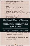 American Literature Since 1900 by Various, Dennis Welland, Jerome Klinkowitz, Malcolm Bradbury, Marcus Cunliffe