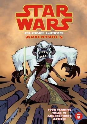 Star Wars: Clone Wars Adventures, Vol. 8 by Ethen Beavers, Matt Fillbach, Jeremy Barlow, Shawn Fillbach, Jason Hall, Chris Avellone
