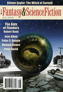 Fantasy & Science Fiction, July/August 2011 (The Magazine of Fantasy & Science Fiction, #696) by Gordon Van Gelder