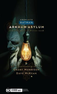 Absolute Batman: Arkham Asylum by Grant Morrison, Dave McKean
