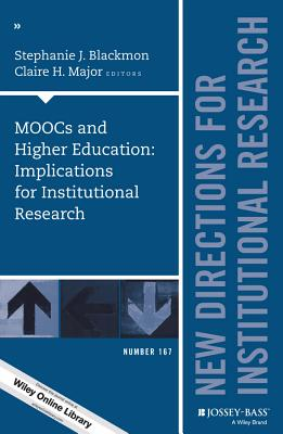 IR167 MOOCs and Higher Educati by Ir