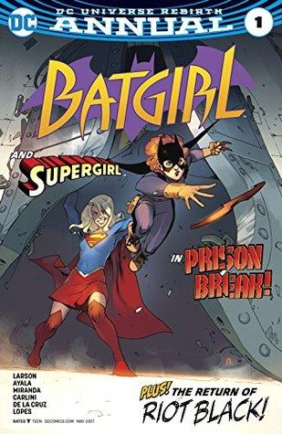 Batgirl Annual #1 by Hope Larson, Eva de la Cruz, Mat Lopes, Inaki Miranda, Vita Ayala, Bengal, Eleonora Carlini