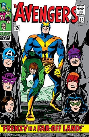 Avengers (1963-1996) #30 by Sam Rosen, Don Heck, Frank Giacoia, Stan Lee, Jack Kirby