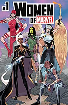 Women of Marvel #1 by Natasha Alterici, Nadia Shammas, Zoraida Córdova, Anne Toole, Sophie Campbell
