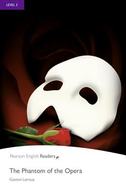Level 5: The Phantom of the Opera Book and MP3 Pack by LeRoux