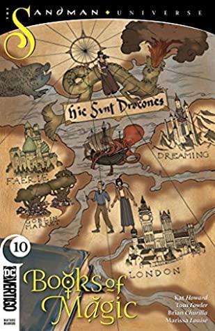 Books of Magic (2018-) #10 by John Rauch, Brian Churilla, Jordan Boyd, Tom Fowler, Kat Howard, Kai Carpenter