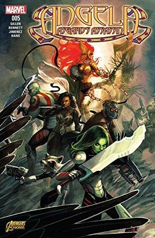 Angela: Asgard's Assassin #5 by Marguerite Bennett, Stephanie Hans, Kieron Gillen, Phil Jimenez