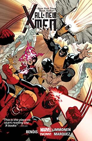 All-New X-Men: Deluxe Edition, Book 1 by David Marquez, Brian Michael Bendis, Cory Petit, Stuart Immonen, Marte Gracia, Wade Von Grawbadger