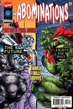 Abominations #3 (Abominations #3) by Glynis Wein (Oliver), James R. Novak, Ángel Medina, Brad Vancata, Ivan Velez Jr.