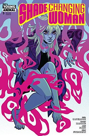 Shade, The Changing Woman (2018-) #5 by Ande Parks, Cecil Castellucci, Becky Cloonan, Jamie Coe, Marley Zarcone, Kelly Fitzpatrick
