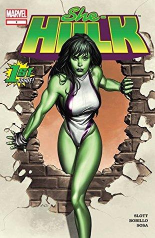 She-Hulk (2004-2005) #1 by Juan Bobillo, Dan Slott, Adi Granov