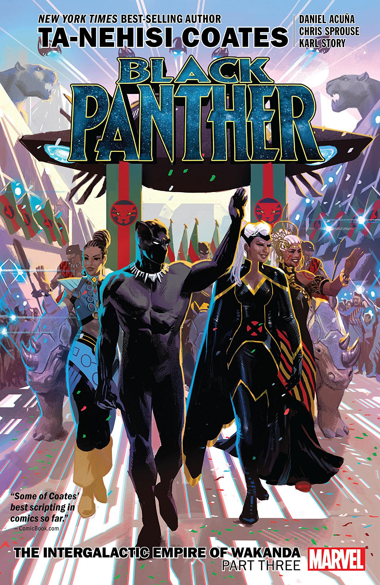 Black Panther, Vol. 8: The Intergalactic Empire of Wakanda, Part Three by Chris Sprouse, Daniel Acuña, Ta-Nehisi Coates