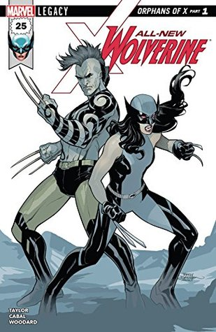 All-New Wolverine #25 by Juann Cabal, Terry Dodson, Tom Taylor