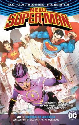 New Super-Man, Vol. 2: Coming to America by Viktor Bogdanovic, Gene Luen Yang