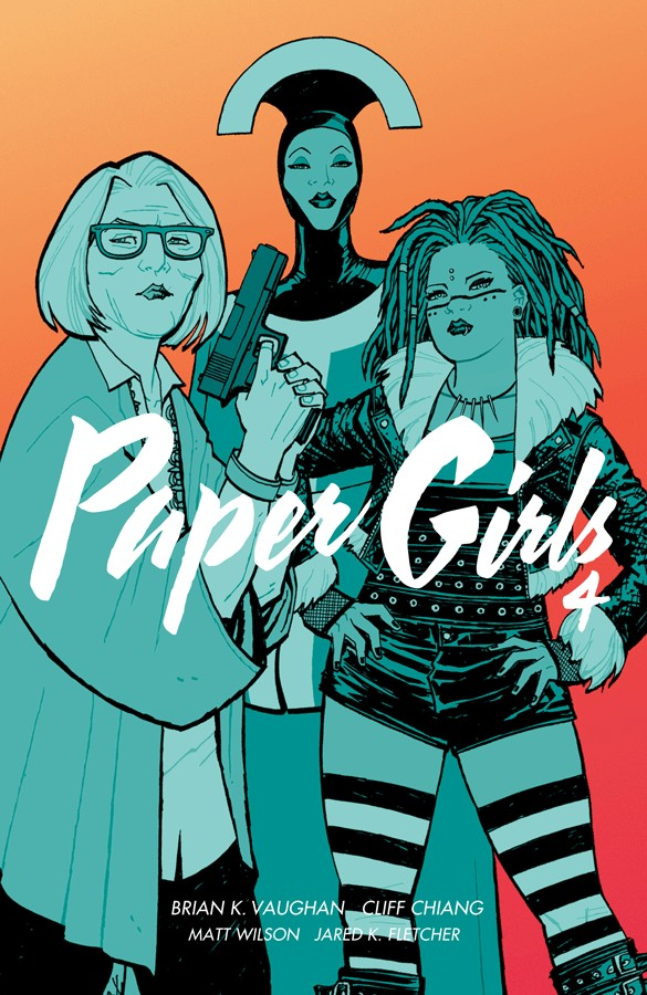 Paper Girls, Vol. 4 by Brian K. Vaughan