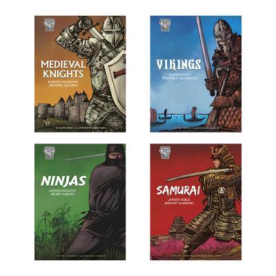 Graphic History: Warriors by Matt Chandler, Blake Hoena, Nel Yomtov