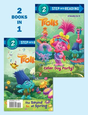 Color Day Party!/The Sound of Spring (DreamWorks Trolls) by Random House
