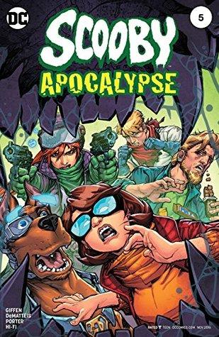 Scooby Apocalypse (2016-) #5 by Alex Sinclair, Howard Porter, Keith Giffen, Hi-Fi, J.M. DeMatteis