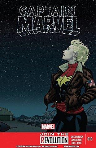 Captain Marvel (2012-2013) #10 by Filipe Andrade, Christopher Sebela, Kelly Sue DeConnick, Jordie Bellaire, Joe Caramagna