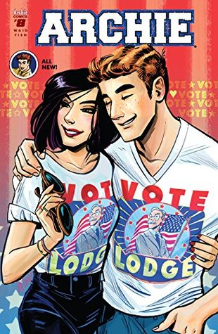 Archie (2015-) #8 by Mark Waid, Veronica Fish, Andre Syzmanowicz, Jack Morelli