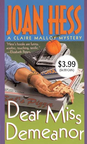 Dear Miss Demeanor by Joan Hess