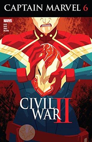 Captain Marvel #6 by Christos Gage, Kris Anka, Ruth Gage