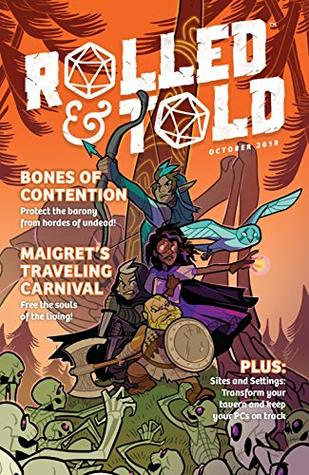 Rolled & Told #2 by Mike Anderson, M.K. Reed, Ben Passmore, Eric Thomas, Meaghan Carter, Kyle Smart, Jeremy Lawson, Leila del Duca, Anne Toole, Josh Trujillo