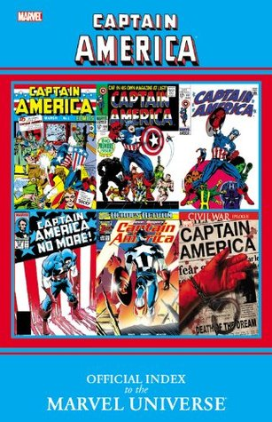 Captain America: Official Index to the Marvel Universe by Marvel Comics