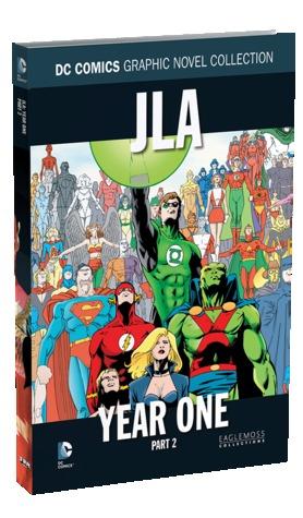 JLA Year One - Part 2 by Pat Garrahy, Brian Augustyn, Mark Propst, Michael Bair, Mark Waid, Barry Kitson, Ken Lopez, John Stokes