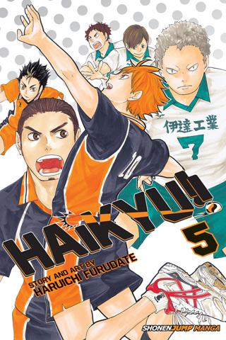 Haikyu!!, Vol. 05 by Haruichi Furudate