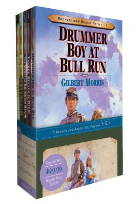 Bonnets and Bugles Series Books 1-5 by Gilbert Morris