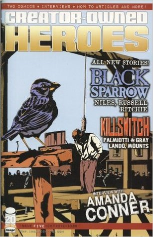 Creator-Owned Heroes #5 (Creator-Owned Heroes, #5) by Andrew Ritchie, Jimmy Palmiotti, Steve Niles, Jerry Lando, Justin Gray, Jay Russell