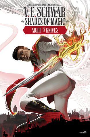 Night of Knives #1 by Andrea Olimpieri, Enrica Eren Angiolini, V.E. Schwab