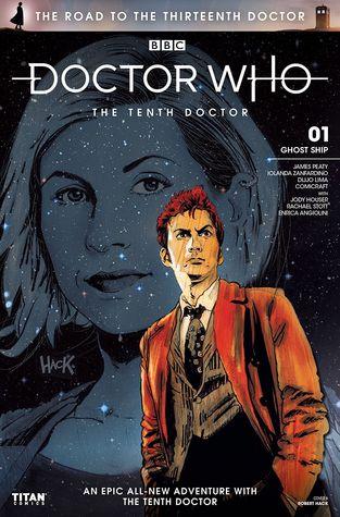 Doctor Who: The Road to the Thirteenth Doctor #1: Tenth Doctor by Dijjo Lima, Comicraft, Rachel Stott, James Peaty, Enrica Angiolini, Iolanda Zanfardino, Jody Houser