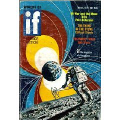 IF Worlds of Science Fiction, 1970 March (Volume 20, No. 3) by Basil Wells, Poul Anderson, Timothy M. Brown, Frank Herbert, E. Clayton McCarty, Edward Bryant, Bob Shaw, Clifford D. Simak, Jack Dann, Dannie Plachta, George Zebrowski, Ejler Jakobsson