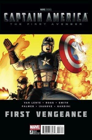 Captain America First Vengeance #3 by Fred Van Lente