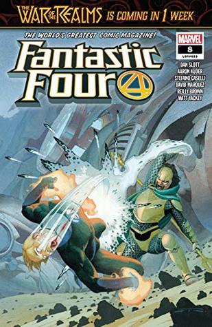 Fantastic Four (2018-) #8 by Dan Slott, Aaron Kuder, Esad Ribić