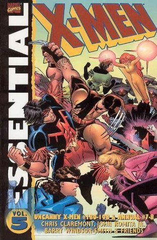 Essential X-Men, Vol. 5 by Barry Windsor-Smith, Bret Blevins, Steve Leialoha, Michael Golden, John Romita Jr., Chris Claremont