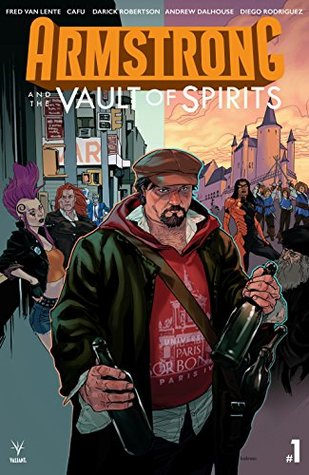 Armstrong and the Vault of Spirits #1 by Cafu, Kalman Andrasofsky, Fred Van Lente